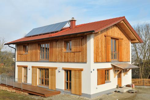 Einfamilienhaus schl sselfertig hess bau gmbh for Modern bauen bau gmbh